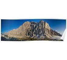 Dolomite Panorama - Val Civitta - Rifugio Tisi Poster