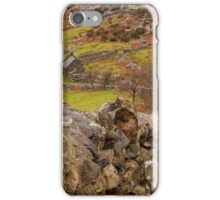 Looking down to rural farm iPhone Case/Skin