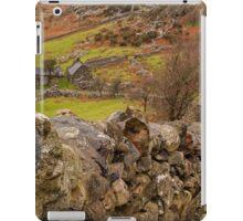 Looking down to rural farm iPad Case/Skin