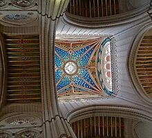 Spain. Madrid. Almudena Cathedral. Vaults. by vadim19
