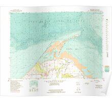 USGS Topo Map Washington State WA Dungeness 240906 1956 24000 Poster