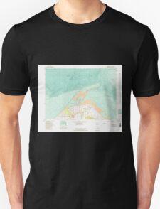 USGS Topo Map Washington State WA Dungeness 240906 1956 24000 T-Shirt