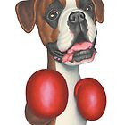 Bruno (Boxer) by Danny Gordon