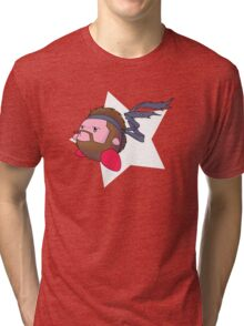 Solid Kirby Snake Tri-blend T-Shirt