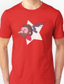 Solid Kirby Snake Unisex T-Shirt