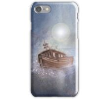 Ghost Ship in the Storm iPhone Case/Skin