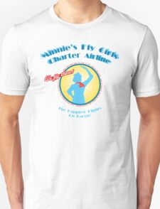 Minnie's Fly Girls Charter Airline Unisex T-Shirt