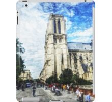 Notre Dame on a Day in May iPad Case/Skin
