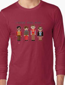 The Big Pixel Theory Long Sleeve T-Shirt