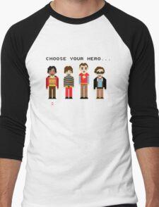 The Big Pixel Theory Men's Baseball ¾ T-Shirt