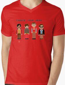 The Big Pixel Theory Mens V-Neck T-Shirt