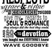 Send My Condolences to Good - Print by ACImaging