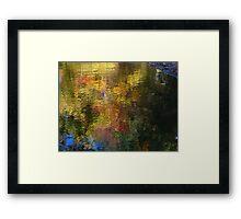 River sprinkles Framed Print