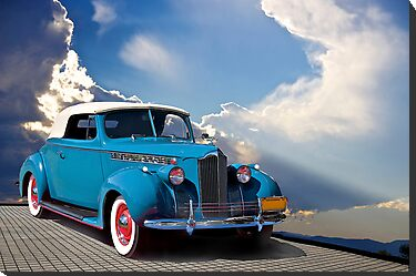 1940 Packard Convertible Coupe by DaveKoontz