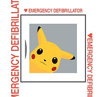 Emergency Defibrillator by Koukiburra