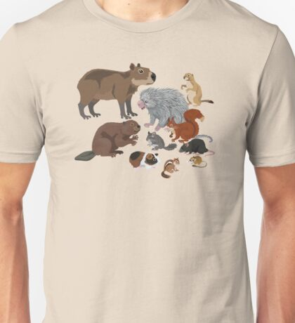 I Am Thankful For Rodents Unisex T-Shirt