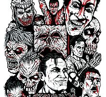 Evil Dead Trilogy by ArtOfOldSchool