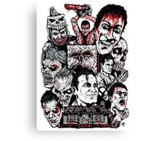 Evil Dead Trilogy Canvas Print