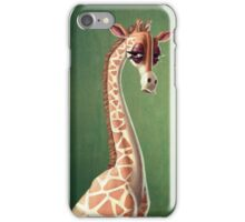 Dramatic Giraffe iPhone Case/Skin