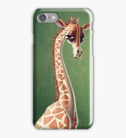 Dramatic Giraffe iPhone Case/Skin