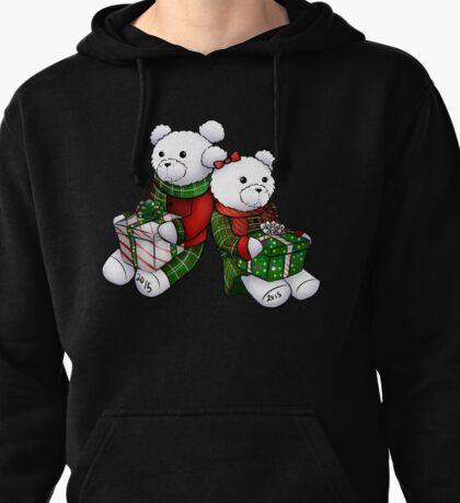2015 Christmas Bears Pullover Hoodie