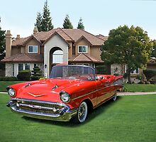 1957 Chevrolet Bel Air by DaveKoontz