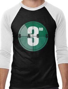 """3rd Bass """"Steppin' to the A.M."""" Men's Baseball ¾ T-Shirt"""