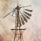 Windmill iPad case by pennyswork