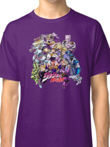 JoJo's Bizarre Adventure: Diamond Is Unbreakable Characters Classic T-Shirt