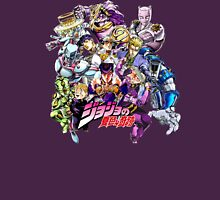 JoJo's Bizarre Adventure: Diamond Is Unbreakable Characters Unisex T-Shirt