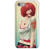 Sexy Redhead iPhone Case/Skin
