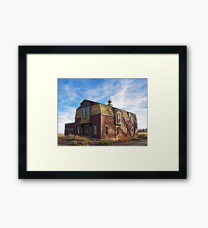Arrowhead Barn Framed Print
