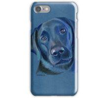 Mollie the adorable black labrador iPhone Case/Skin