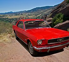 1965 Ford Mustang Coupe by DaveKoontz
