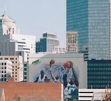 NBA mural,Charlotte,NC by jamescassel