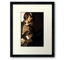 80s rock Framed Print