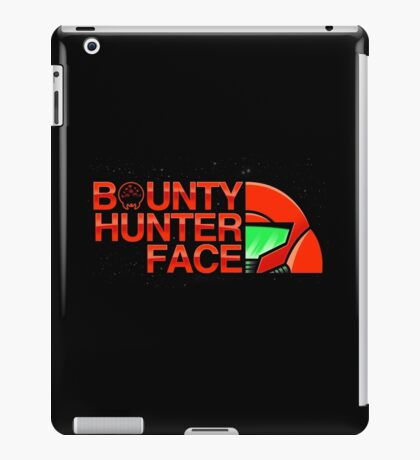 Bounty Hunter Face iPad Case/Skin