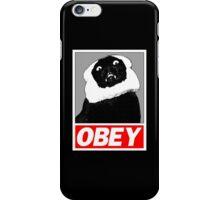 Ob*y breaded cat iPhone Case/Skin