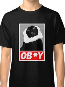 Ob*y breaded cat Classic T-Shirt