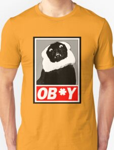 Ob*y breaded cat Unisex T-Shirt