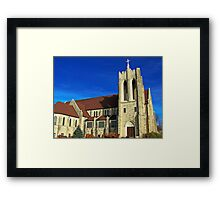 East Side Lutheran Framed Print