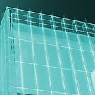 Transparent Cube Aqua by artkitecture