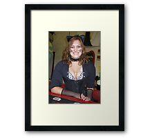 Cork, cork -- who has the cork? Framed Print