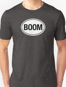 BOOM - Euro Sticker T-Shirt