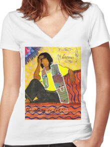 REFLECTIONS How I Got Here Women's Fitted V-Neck T-Shirt