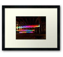 Rainbows everywhere Framed Print