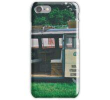 VW Bus Open Door Ploicy iPhone Case/Skin
