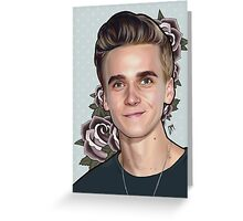 Joe Sugg 'Flowers' Greeting Card