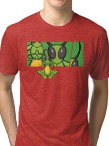 Patient Grasshopper 2 Tri-blend T-Shirt