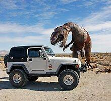Be Careful - You Never Know What You Might Find In The Desert by CarolM